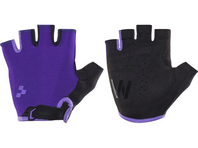 Cube Natural Fit WLS Gloves Shortfinger Dam violet'n'purple